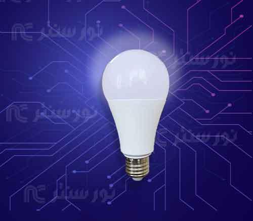 لامپ ال ای دی حبابی (تک تاب)
