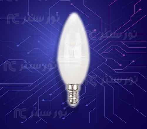 لامپ ال ای دی شمعی 7 وات (تک تاب)